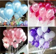 balloons latex 10/12inches 1.2/1.5/2.2/2.8grams pearl color for Gift Craft Birthday Wedding Party baby shower favor Decor DIY(China (Mainland))
