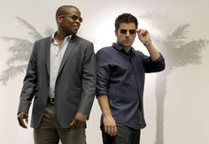 Psych! .. (Shawn Spencer Love him! specially chubby :) Shawn And Gus, Shawn Spencer, Psych Season 8, Psych Cast, Burton Guster, Psych Memes, James Roday, Manu Ginobili, Comedy Show