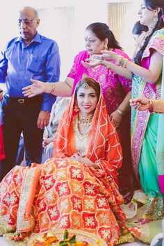 Kiran Amp Arjun Wedding Photo Makeup And Hair Indian Sikh Wedding, Indian Wedding Outfits, Wedding Attire, Indian Outfits, Wedding Dresses, Punjabi Wedding, Indian Bridal Fashion, Indian Bridal Wear, Punjabi Bride
