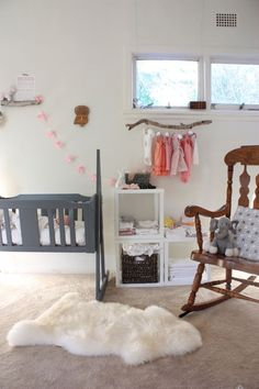 gorgeous baby room!