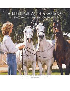ISSUU - 10 Commandments Of Breeding by Arabian Horse Times