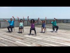 Latin - Zumba Inspired Chair Exercise Fitness Workout #1 - Multiple Sclerosis - MS - (Video#5) - YouTube