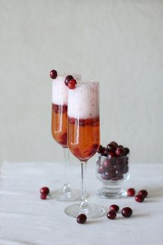 Bubbly Cranberry Apple Cider