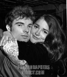 Van Morrison and Janet Planet , 10 October 1967 . VM : Northern Irish singer songwriter and musician , b . 31 August 1945 . stock photo