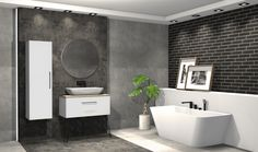 Praca konkursowa z wykorzystaniem mebli łazienkowych z kolekcji FUTURIS #naszemeblenaszapasja #elitameble #meblełazienkowe #elita #meble #łazienka #łazienkaZElita2019 #konkurs Alcove, Bathtub, Bathroom, Design, Standing Bath, Washroom, Bath Tub, Bathtubs, Bathrooms