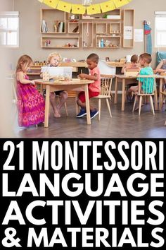 From Casa through Lower Elementary, these Montessori language materials and activities are perfect for teachers, parents, and homeschooling super moms! Montessori Education, Montessori Classroom, Preschool Curriculum, Montessori Toddler, Preschool Lessons, Montessori Activities, Teaching Activities, Language Activities, Preschool Kindergarten