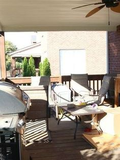 'We were TIRED of our nasty deck' See his stunning idea