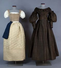 Underneath the dress 1830s