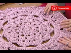 Nilüfer Atılgan Özkan'dan çiçek paspas yapımı Ezgi Sertel'le Kadınlar Bilir'de - YouTube