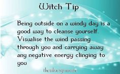 This is perfect .  I have felt this intuitively since I was a wee one  :-)  Witch tip