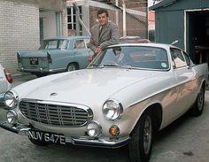 Credit: Alamy The Saint – 1962 Volvo Roger Moore played Simon Templar, detective/secret agent/thief, in the ITV show. Daihatsu, Koenigsegg, Ford Gt, Rolls Royce, Buick, The Saint Tv Series, Aston Martin, Bugatti, Corvette