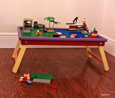 how to diy a lego table the easy way, how to, painted furniture