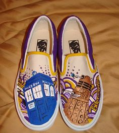 Doctor Who shoes.