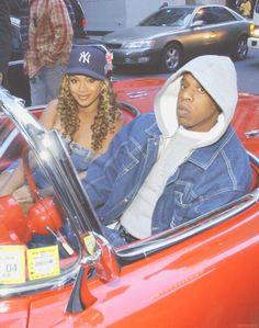 Beyonce and Jay Z in 2002 Arte Do Hip Hop, Hip Hop Art, 2000s Fashion, Hip Hop Fashion, Mode Old School, 1990 Style, Mode Hipster, Estilo Hip Hop, Arte Punk