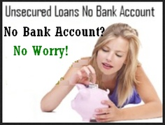 Best unsecured deals without any credit check or without checking your bank account. We are specializing an arranging loans.