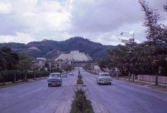 Avenida principal de Las Mercedes - 1962