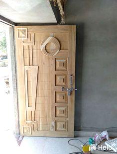 Single Main Door Designs, Single Floor House Design, Wardrobe Interior Design, Door Design Interior, Wooden Front Door Design, Modern Wooden Doors, Pooja Room Door Design, Flush Doors, Cupboard Design