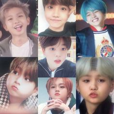 BTS as baby's awwwww (although Jungkook will always be a fetus)