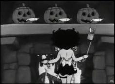 "mothgirlwings:  ""Betty Boop's Halloween Party"" (1933)"