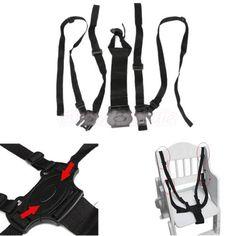 harnais pour chaise haute poussette harnais de maintien de marche Safety Neuf…