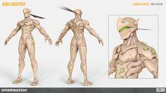 ArtStation - Overwatch - Genji, Matt Taylor