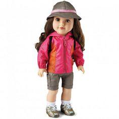 OMG, that's her!  Newberry(TM/MC) Camper Girl 'Kenley' Fashion Doll - Sears