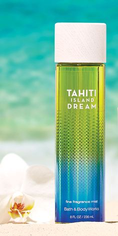 A sexy summer blend of coconut water, Tahitian vanilla musk & kiwi blossom. not too keen on kiwi. But sounds good Tahiti Islands, Bath N Body Works, Perfume Body Spray, Dream Bath, Fragrance Mist, Smell Good, Coconut Water, Body Lotion, Face And Body