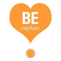 Be Emphatic www.be-different.com Dares, Flexibility, Presents, Positivity, Joy, Logos, Simple, Unique, Creative