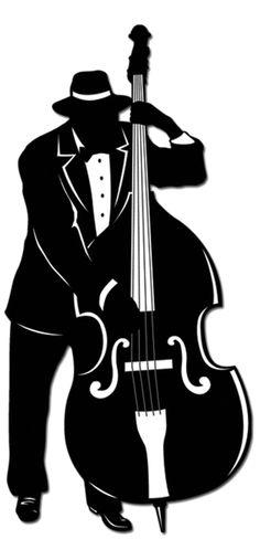 roaring 20s silhouettes clip art
