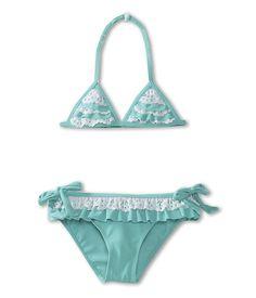 Primigi Kids Two Piece Ruffle Swimsuit (Toddler/Little Kids/Big Kids) @ zappos.com for $23.80