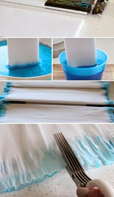DIY FROZEN Party Decorations via victorious archive - tissue paper and birthday banner Frozen Themed Birthday Party, Elsa Birthday, Birthday Party Themes, 4th Birthday, Birthday Ideas, Festa Frozen Fever, Frozen Party Decorations, Diy Birthday Banner, Disney Frozen Party