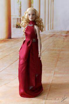 """Плечо работа платье/платье/наряд для tonner doll совместно с antoinette или шикарное тело 16""""   Куклы и мягкие игрушки, Куклы, Одежда и аксессуары   eBay!"""
