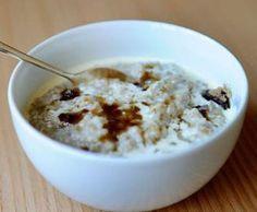 Crema de avena con manzana y pasas sultanas (porridge)                                                                                                                                                                                 Más