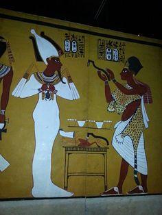 King Tutankhamun/ Tut Exhibit at KC Union Station.