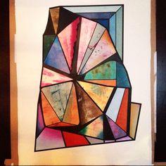 Carl Osberg- oil pastels