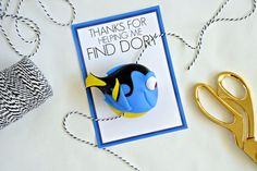 Finding Dory birthday party favor printable from Hello Splendid