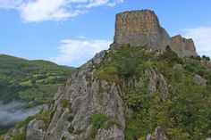 The Castle of Montsegur is said to have once held the Holy Grail