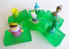 6 Fairy Tale Soaps Finger Puppets Children's by LilBlackDogCrafts