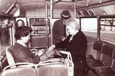 1960-as évek ülőkalauz a buszon Old Pictures, Old Photos, Anno Domini, Budapest Hungary, Vintage Photography, Historical Photos, Retro, The Past, History