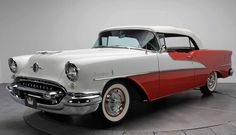 1956 Oldsmobile - This is the same as the second car I owned. One of my big regrets is not having been smart enough to have kept it.