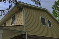 This home's exterior was pretty old, worn and damaged in various areas. We did a complete tear down of the old siding and replaced with with brand new James Hardie siding and trim.    See more: http://www.prohome1.com/en/gallery/siding-pictures.html