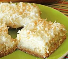 Ingredients:  2 cups flour  1 cup sugar  1 cup butter  16 ounces cream cheese  4 TBS sugar  4 TBS milk  2 eggs  2 tsp vanilla  16 ounces crushed pineapple, drained  2 cups flaked coconut  2 TBS melted butter    Directions:  1 – Combine flour, 1 cup sugar, and 1