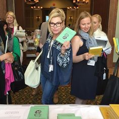Blondes and books!  Editors at @thescoutguide know what it's like to be well-mannered, well-dressed, and well-read!