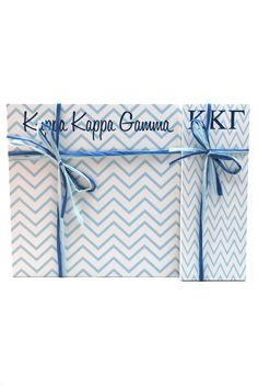 "Kappa Kappa Gamma 3"" x 8"" and 8"" x 8"" Note Pads from South Bound Sisters"