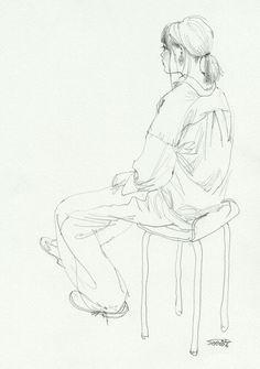 Human Figure Sketches, Human Sketch, Figure Sketching, Figure Drawing, Drawing Sketches, Art Drawings, Sad Art, Art Corner, Art Reference Poses