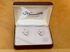 Spectacular Krementz Vintage Faux Pearl and by FancyThatBlingCo