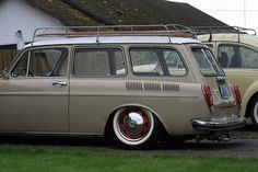 My 1970 VW Type 3 Squareback by 2lowcoupedoor, via Flickr