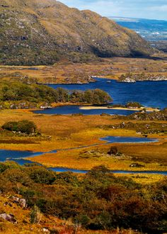 Killarney Lakes, County Kerry ive been there and taken photo very similar beautiful place :)