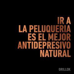 "36 Likes, 3 Comments - Grillok (@grillokpeluqueria) on Instagram: ""#Grillok #Peluqueria #Estilista #Fashion #Frases #Pelo #Manos #Maquillaje"""