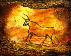 french cave paintings at lascaux   2012 in Room 10 at RPS: Lascaux Cave Paintings
